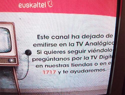 Euskaltelek analogiko kanalak itzaliko ditu
