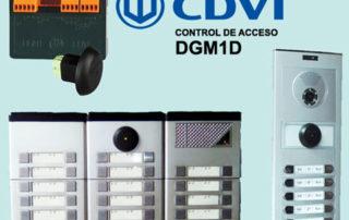 control accesos cdvi