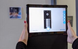 Realidad aumentada en la instalación de videoporteros en Bilbao