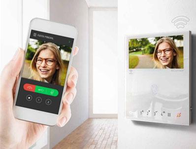 Videoportero conectado al móvil